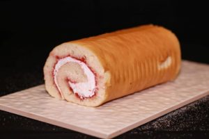 Jam & Cream Sponge Roll Gluten and Dairy Free